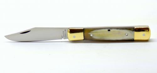 d40a89112c7c Klasszikus kézi készítésű magyar zsebkés, igazi férfias bicska a  mindennapokra . A penge alapanyaga megegyezik a DICK késeknél használt  1.4116 ( X50CrMoV15) ...